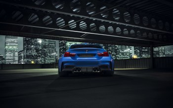 widebody,gtrs4,blue,Bmw,nigth,photoshoot,vorsteiner,rear