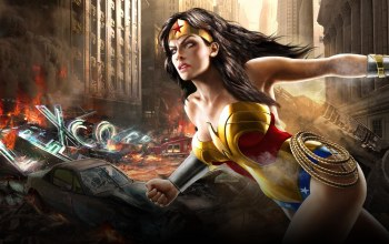 wonder woman,comics,mortal kombat vs dc universe