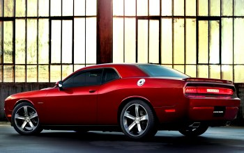 dodge,car,100th anniversary,додж,automobile,Red,fast,challenger