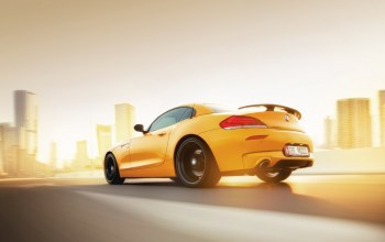 car,Sunset,Speed,yellow,abudhabi,rear,Bmw