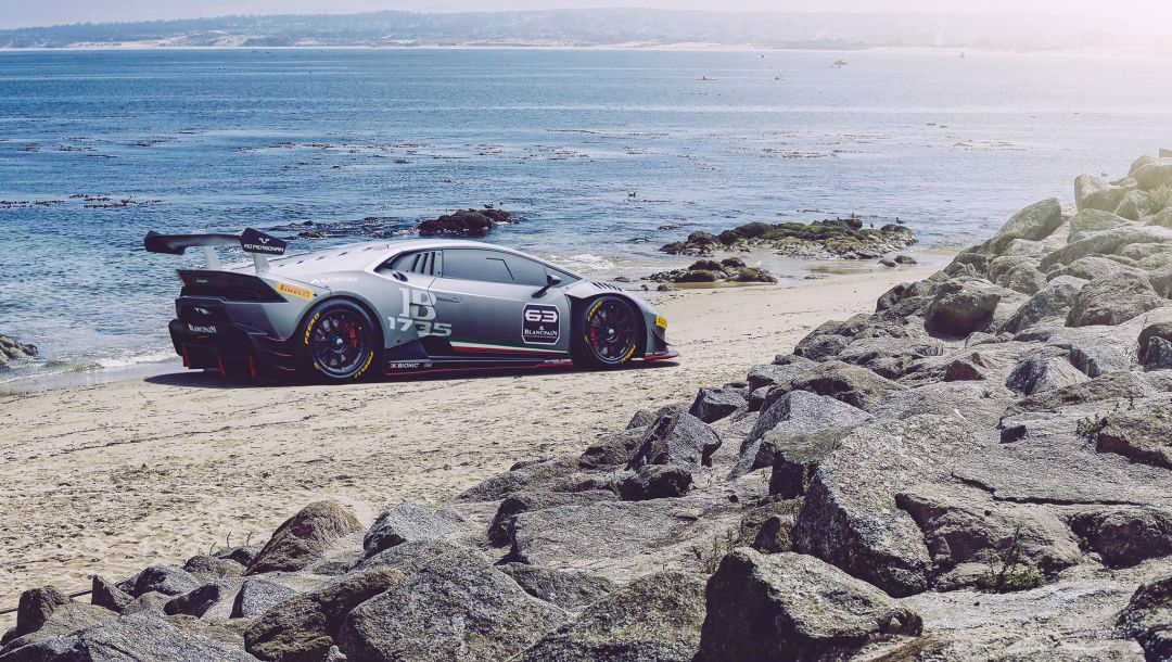 car,ligth,lp620-2,trofeo,Race,beach,rear,Lamborghini
