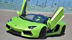Lamborghini,roadster,Door,aventador,Track,green,lp700-4
