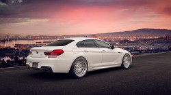 White,gran coupe,650i,Bmw,tuning