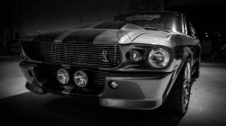 muscle car,Ford,автообои,silver,shelby,eleanor,mustang,форд,gt500