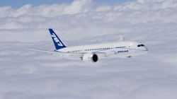powered by ge engines,Boeing 787-8,boeing completes first flight of first 787 dreamliner