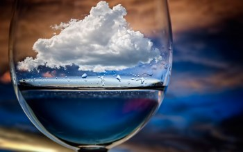 облако,бокал,Cloud in a glass