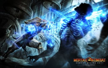 raiden,Mortal kombat,fight