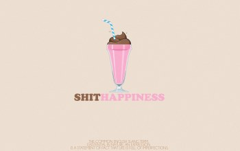 Shit happiness,nomane world,icecream