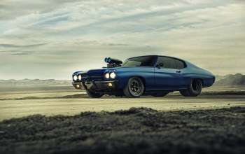 blue,1970,Muscle,dragster,chevrolet,chevelle,supercharger,car