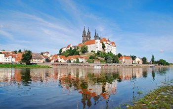 Germany,albrechtsburg castle,elbe river,Meissen,saxony,майсен,meissen cathedral