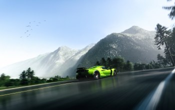 supercar,mountain,rear,Hennessey