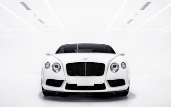 White,bentley,continental,gt v8s