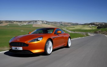Пейзаж,Aston martin virage