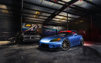 Honda s2000,car,garage