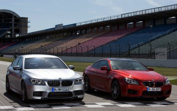 Bmw m5,competition package,bmw m6 coupe,and,трасса,Автомобили