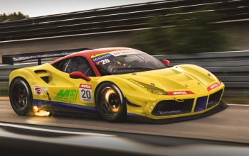488,yellow,Speed,Track,gtb,Race,car