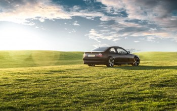 3 series,rear,green grass,M3,Bmw,зеленая