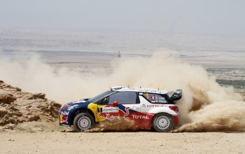 Citroen,wrc,s. loeb,ds3,rally,d. elena,пыль,занос