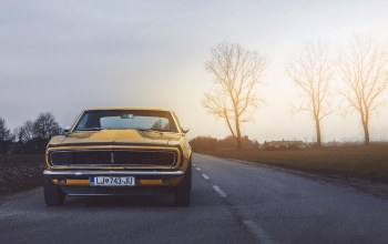 camaro,rs,oldy,car,1968,Muscle,chevrolet,power,yellow