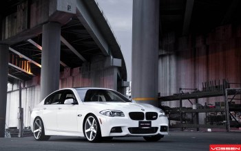 f10,5 series,White,Bmw