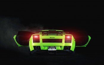 supercar,1250hp,Lamborghini,2005,project,rear