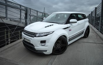 car,range rover,pd650,White,evoque,ракурс,Prior-design
