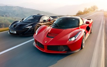 Red,Speed,Road,lead,power,Mclaren,supercars
