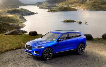 Jaguar c x17,cross,car,blue,Jaguar