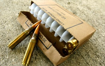 M1a rifle,ammunition,caliber 7.62x51mm