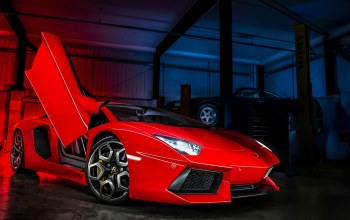 kahn design,Red,Lamborghini,ламборджини
