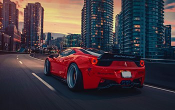 458,liberty,body,Red,walk,rear,kit,italia