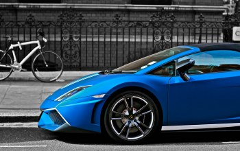 performante,matte,Lamborghini,blue