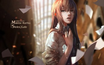 upscale,makise kurisu,steins;gate,lightofheaven