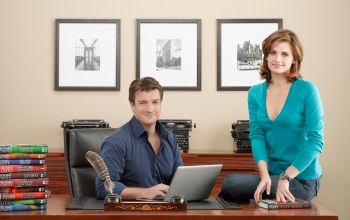 касл,nathan fillion,stana katic