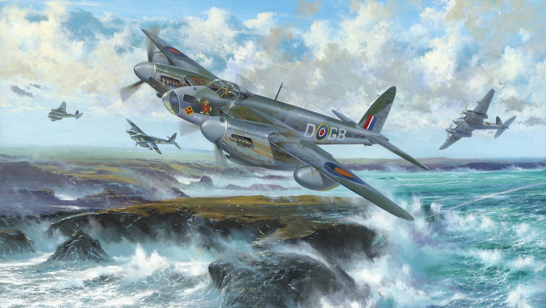war,ww2,De havilland mosquito,british aircraft,british fighter,drawing,painting