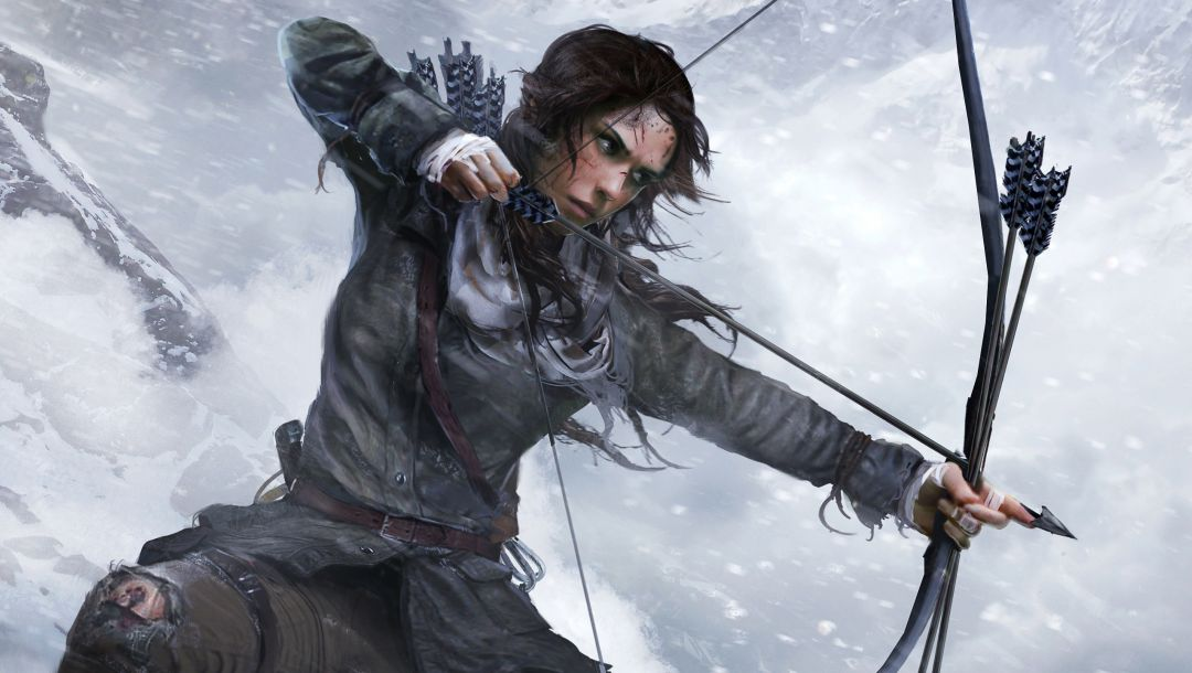 lara croft,лара крофт,Rise of the: tomb raider,лук