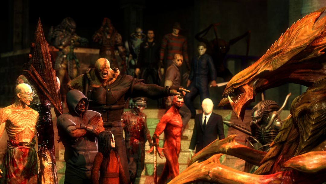 Nemesis,pyramid head,Silent hill,alma,Hunter,richard trager,characters