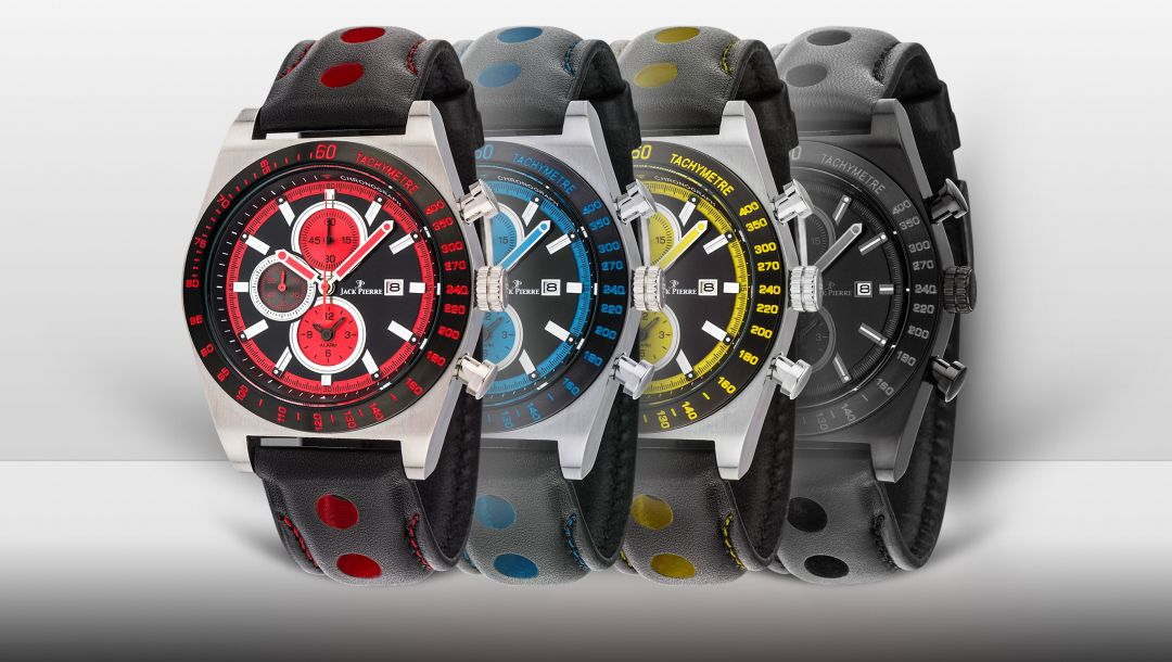 Jack pierre,Watch,yellow,Red,blue
