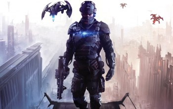 Killzone shadow fall,killzone, guerrilla games,килзон в плену сумрака