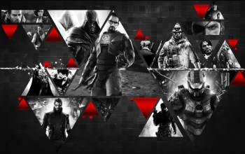 Half-life,Crysis,master chief,mass effect,games,assassins creed,deus ex