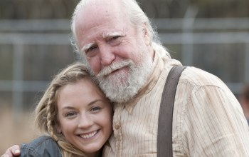 emily kinney,актеры,улыбки,scott wilson,the walking dead
