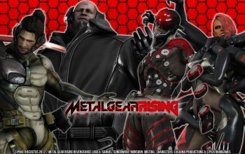 metal gear rising,mystral,desperado enforcement group,sundowner,mgr,revengeance,Monsoon
