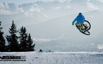 велосипед,downhill,winter.snow,bike,freeride