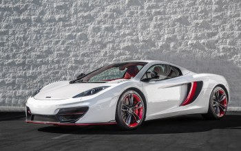 Mclaren,White,mp4-12c,Red