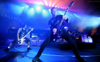 James hetfield,Metallica,robert trujillo,металика