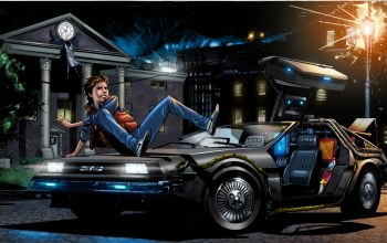 marty mcfly,Назад в будущее,delorean dmc-12,back to the future