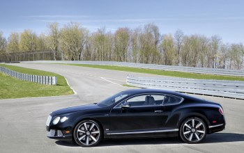 bentley,вид сбоку,Track,le mans edition,car,continental gt speed