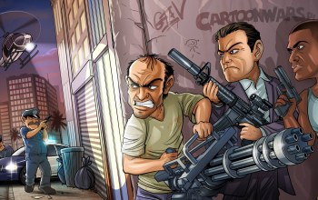 бандиты,franklin,trevor phillips,grand theft auto v,michael