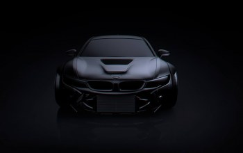 matte,Bmw,future,dark,by khyzyl saleem,i8