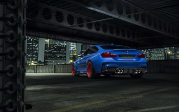 photoshoot,gtrs4,wheels,widebody,blue,Bmw,rear,nigth,vorsteiner